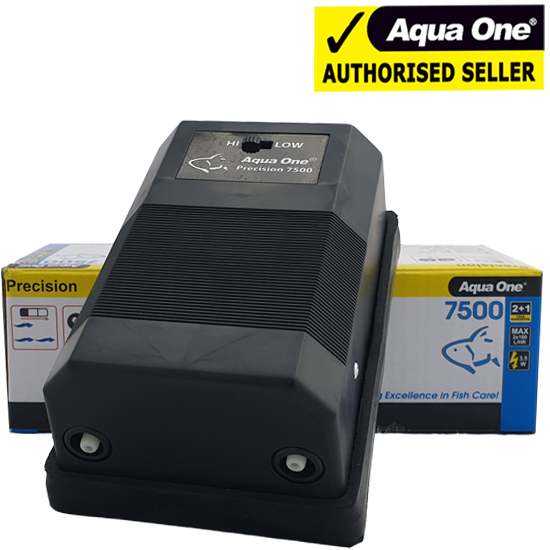 Aqua One Precision 7500 Twin Outlet Air Pump