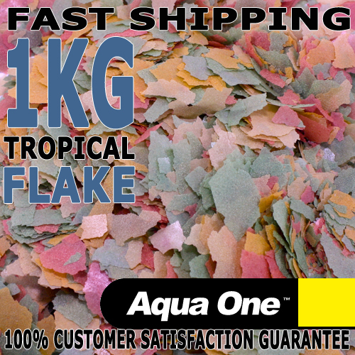 Tropical Flake Fish Food 100g