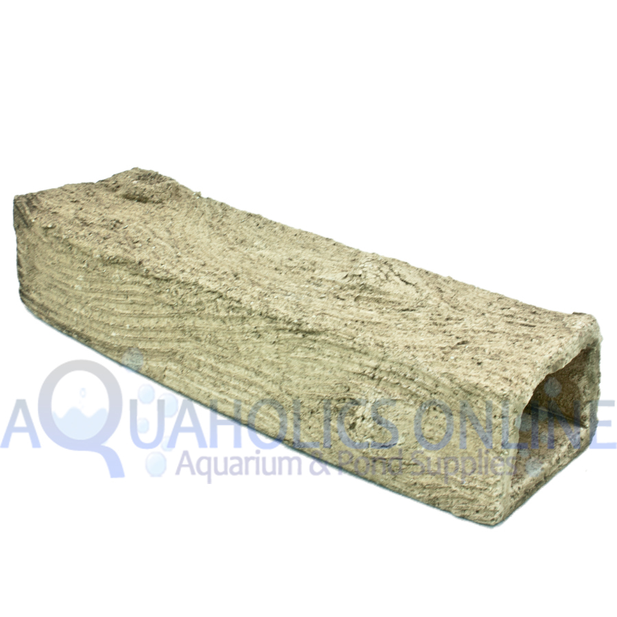 Handmade Bristlenose Catfish Breeding Log Square Small