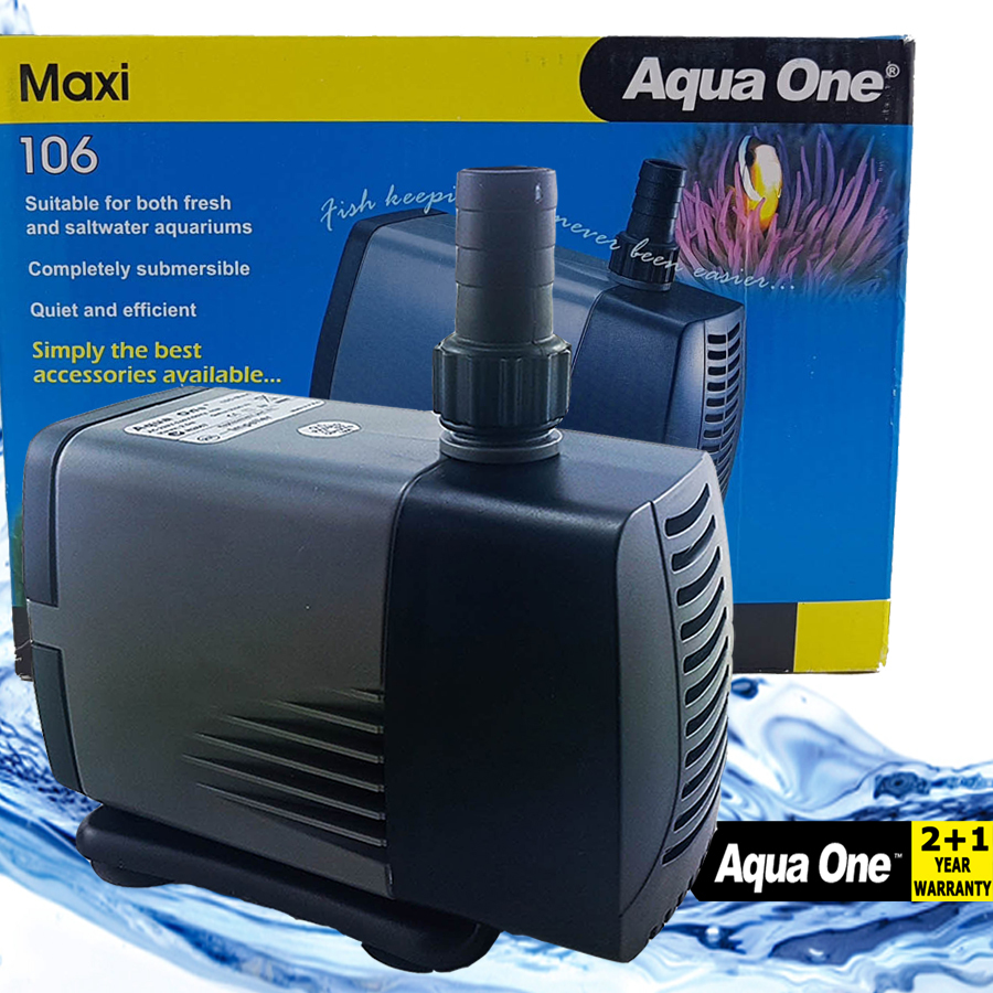 Aqua One Maxi 106 Submersible Water Pump 3000lph