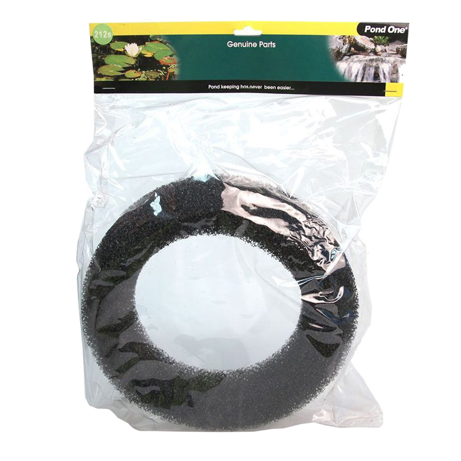 Pond One Claritec Black Sponge Ring 3/5/10/15000 Replacement Part 212s