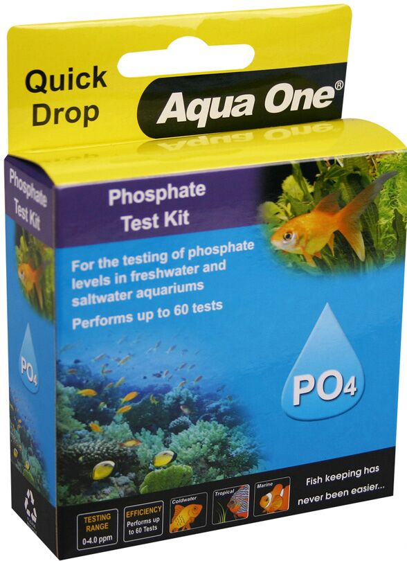 Aqua One Quick Drop Phosphate Test Kit