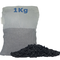 Activated Carbon Pellets 1kg Aquarium Filter Media + Filter Bag