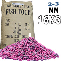 2-3mm Premium Bulk Goldfish, Koi and Tropical Floating Fish Food Pellet 16Kg BAG