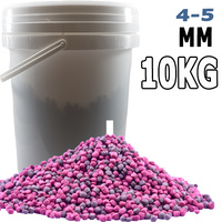4-5mm Premium Bulk Goldfish, Koi and Tropical Floating Fish Food Pellet 10Kg Bucket