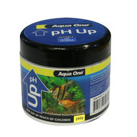 Aqua One Aquarium pH Up Powder Buffer 250g