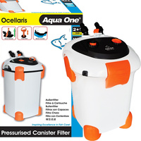 Aqua One Ocellaris Aquarium Canister Filter 3000UV