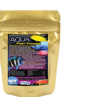 Aquamunch African Attack Small 250g Bag