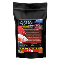 Aquamunch Cichlid Bites Small  1kg Bag