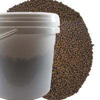 Premium Bulk Floating Pellet 15kg Bucket 4mm Floating