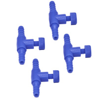 In-Line Airline Tap Valve 4 Pack (4mm)