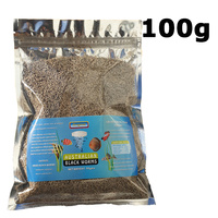 Australian Black Worm Freeze Dried 100g Cubes