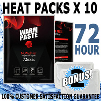 Nomoy Pet Shipping Heat Pack 72 Hours 12 Pack