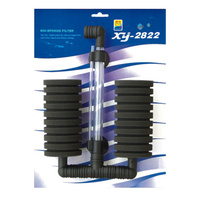XY-282 Large Biological Aquarium Twin Sponge Filter